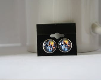 X-Men Wolverine Post Stud Earrings
