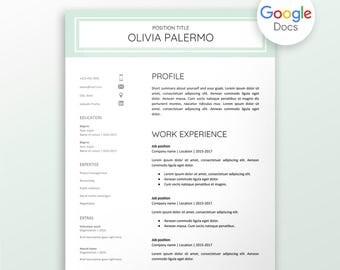 resume template google docs cover letter google docs google docs resume google resume - Google Docs Resume