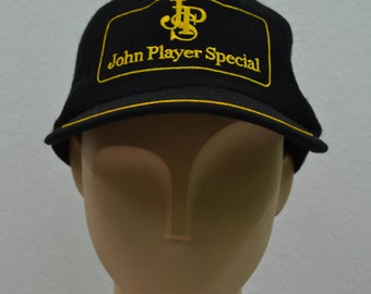 John Player Special Hat Vintage John Player Special Full Hat Made in Japan Size L