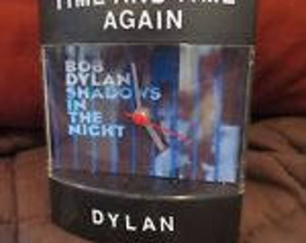 "Bob Dylan Clock -Dyl-Time Clock for ""Shadows In The Night"""
