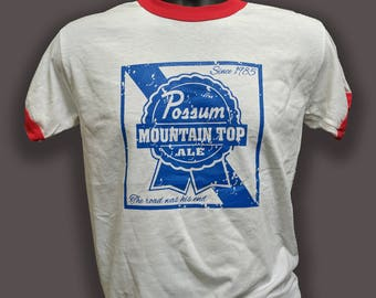 "Phish ""Lot Style Tee"" Possum Mountain Top Ale T-Shirt"