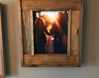 """11"""" x 14"""" Rustic Solid Wood Frame"""
