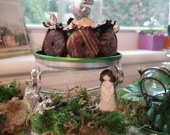 MIniature Fairy and Maiden Pail Settings