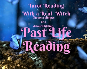 Past Life Tarot Oracle Reading real psychic reading twinflame soulmate Love Empowering Past Lives Spirit Guide psychic gifts for witches