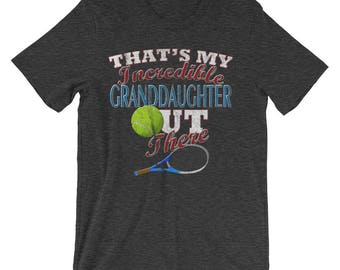 Tennis Grandpa Shirt-Tennis Grandma Shirt-Tennis T Shirt-Grandma Gifts-Grandpa Gift-Grandparent Gifts-Tennis Shirts-Tennis Gifts-Tennis Tee