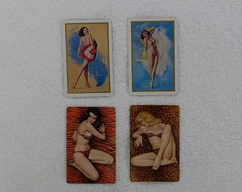 Vintage Pinup Playing Cards from the 40s by Rolf Armstrong and Al Moore