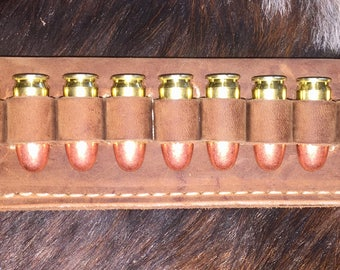 Belt Cartridge Carrier; 45ACP or 45 LC