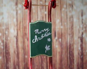 Rustic Wood Sleigh, Santa's Sleigh, Christmas Decor, Rustic Christmas, Primitive Christmas, Christmas Decoration, Mantel Decoration, gift