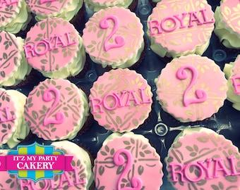 Regal Cupcake Toppers (1 Dozen)