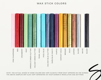 Wax Seal Sticks - Pack of 3 Sticks, Wax Sealing Sticks, Glue Gun Sealing Wax, Sealing Wax Sticks, Glue Gun Wax Sticks, Wax Seal (WSUPP100)