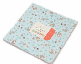 Lullaby layer cake 10 inch fabric squares for Moda Fabric by Kate and Birdie