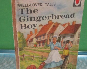 Vintage Children's Ladybird Book - The Gingerbread Boy - Well-Loved Tales 606D