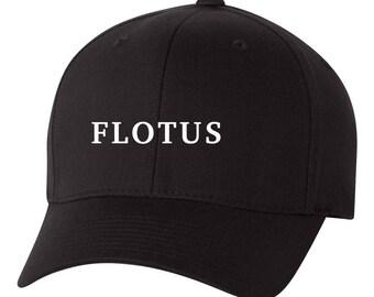 FLOTUS Melania Trump Flex Fit HAT ***Free Shipping in BOX***