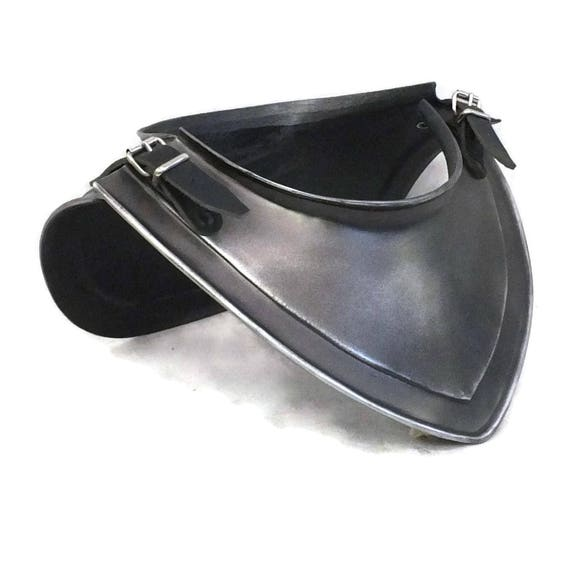 Larp Armor, Medieval Small Gorget. Cosplay Armor, chest armor, medieval armor, wow