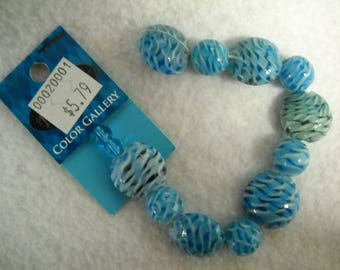 Beautiful glass beads for jewelry making