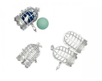 2 cages for Pearl or bola 16mm Bird Cage shape