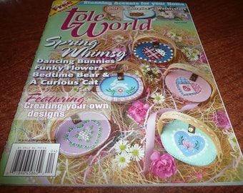 Tole World Magazine April 2004