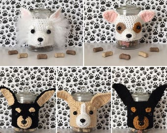 Chihuahua Gift, Long Haired Chihuahua, Teacup Chihuahua, Chihuahua Rescue, Doggy Mom, Dog Treat Jar, Miniature Chihuahua, Dog Mom Gift