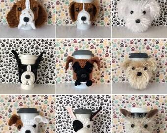 Dog Breed Gifts, Dog Presents, Dog Dad, Dog Trainer, Dog Groomer, Dog Mom Gift, Dog Breeder, Dog Walker, Dog Grandma, Coffee Mug Cozy