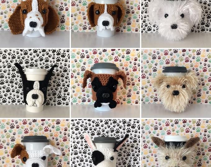 Featured listing image: Dog Breed Gifts, Dog Presents, Dog Dad, Dog Trainer, Dog Groomer, Dog Mom Gift, Dog Breeder, Dog Walker, Dog Grandma, Coffee Mug Cozy