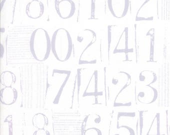 Figures numbers in Vapor by Zen Chic for Moda by the HALF yard, 1550 11