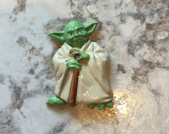 Vintage Star Wars magnet - Yoda- Vintage toy