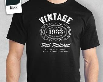 85th Birthday, 1933 Birthday, 85th Birthday Idea, Great 85th Birthday Present, 85th Birthday Gift, 85th Birthday Shirt For a 85 Year Old!