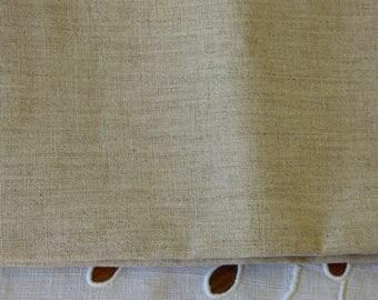 Coupon of fine linen thread