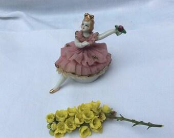 Vintage China Ballerina