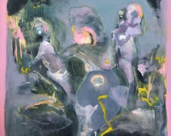 Matriarch', 31x43cm, Oil on Canvas, 2017