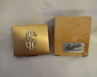 Coin Purse / Box by Sachse's Sheboygon MI - Vintage