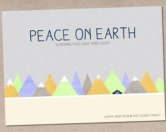 Peace on Earth: Holiday Card