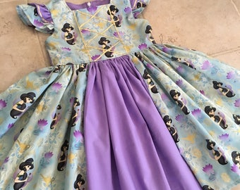 Princess Jasmine dress, Jasmine birthday dress
