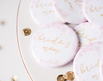Bridal Party, Bride's Mom, Bride Tribe, MOB, Flare Button, Bachelorette Party, Wedding Shower, Bar Crawl, Party Bus, Wedding Flare