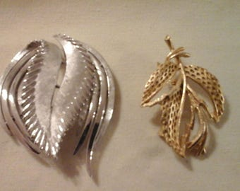 Leaf Brooches 2