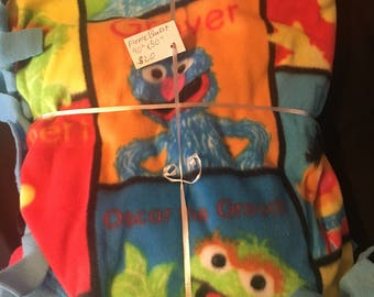Sesame Street Baby blanket
