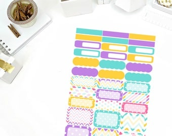 Sweet Tooth Functional Sheet Stickers! Perfect for your Erin Condren Life Planner, calendar, Paper Plum, Filofax!
