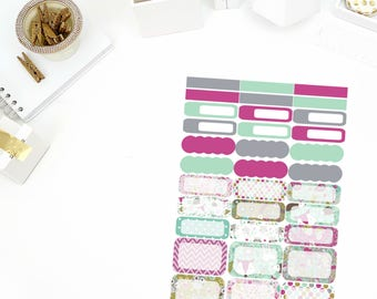 Enchanted Functional Stickers! Perfect for your Erin Condren Life Planner, calendar, Paper Plum, Filofax!