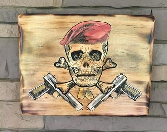 Skull and Guns SALE PRICE