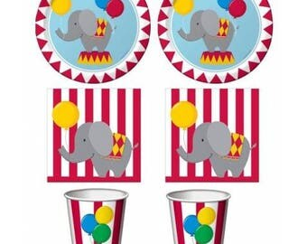 Circus party Kit-decorations and circus ornaments
