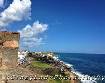 International travel: San Juan Castle