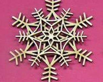 Snowflake design A