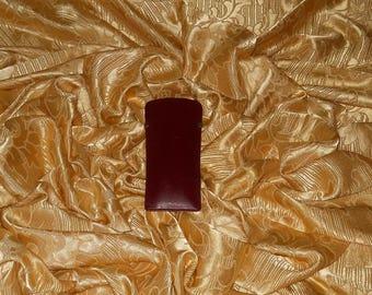Genuine vintage Cartier Paris sunglasses case - genuine leather