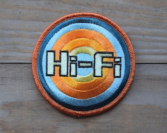 Hi-Fi Embroidered Patch