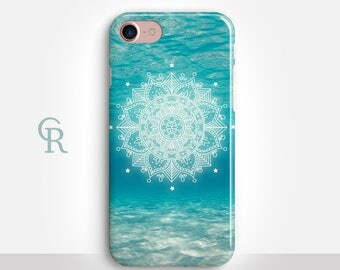 Mandala iPhone SE Case For iPhone 8 iPhone 8 Plus - iPhone X - iPhone 7 Plus - iPhone 6 - iPhone 6S - iPhone SE - Samsung S8 - iPhone 5