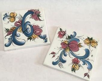 Rosemaling Tile or Trivet