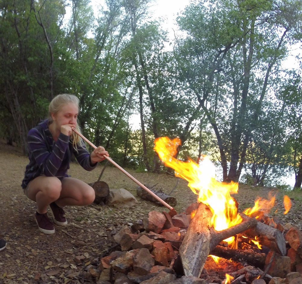 backpacking gear campfire starter fire tool survivalist gear