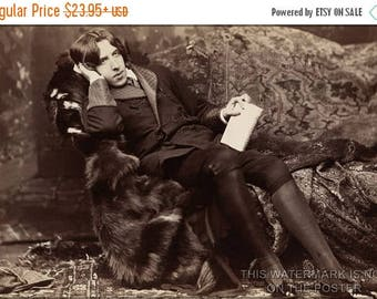 40% OFF SALE Poster, Many Sizes Available; Oscar Wilde