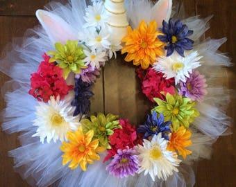 Unicorn Wreath - Unicorn Theme - Unicorn Party