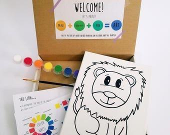 Lion Paint Kit
